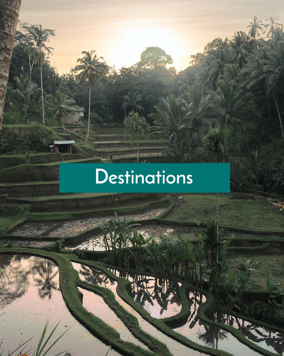 Bali Indonesia Destinations Page