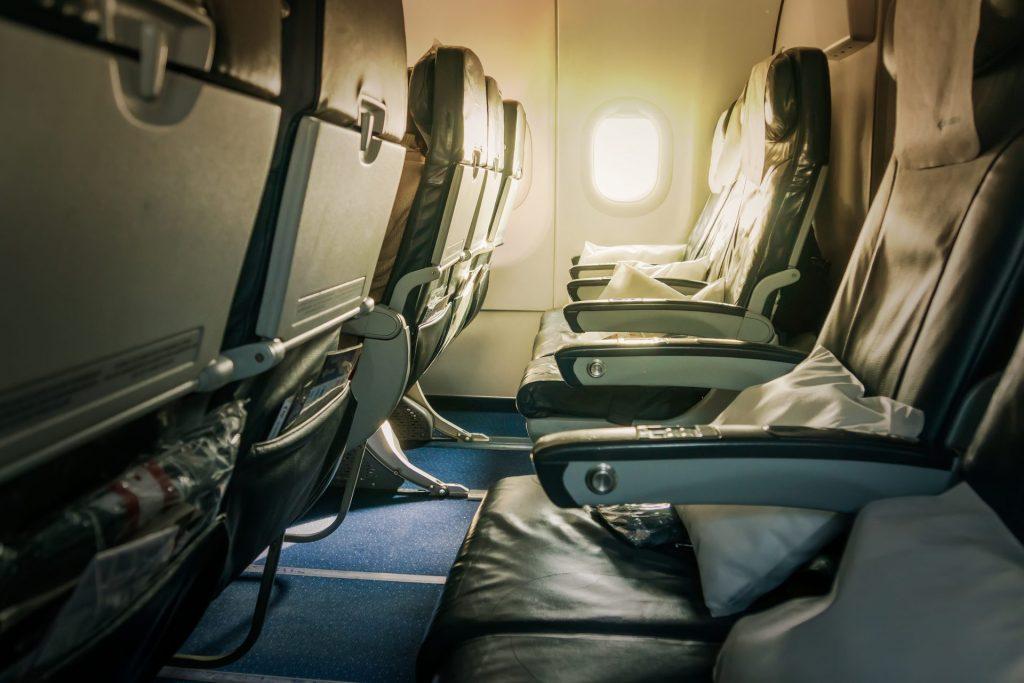Airplane armrest etiquette